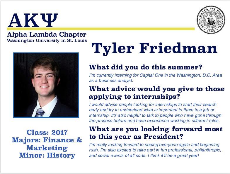 Tyler Friedman